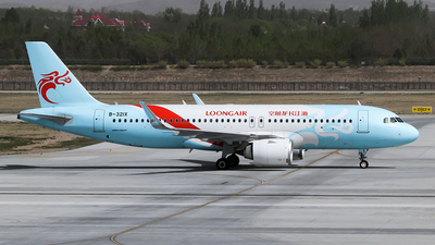 A picture of B321X - Airbus A320251N - Loong Air - © ceci wong