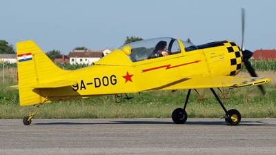 9A-DOG - Interavia I-3 - Private