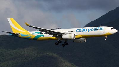 RP-C3345 - Airbus A330-343 - Cebu Pacific Air