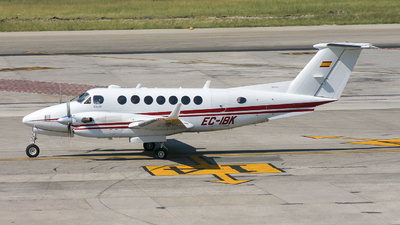 EC-IBK - Beechcraft B300 King Air 350 - Gestair Private Jets