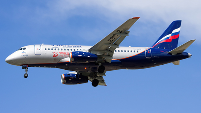 A picture of RA89102 - Sukhoi Superjet 10095B - Aeroflot - © Sergey Popkov