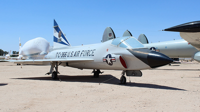 54-1366 - Convair TF-102A Delta Dagger - United States - US Air Force (USAF)