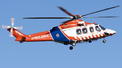 A picture of VHYXK - AgustaWestland AW139 - Babcock MCS Onshore - © Thimo van Dijk