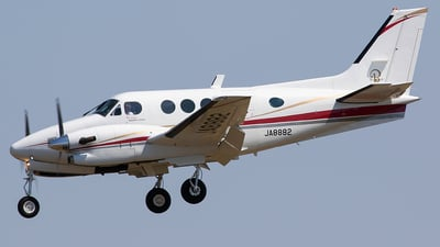 JA8882 - Beechcraft C90A King Air - Hokkaido Aviation (HKK)