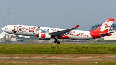 A picture of 9MXXF - Airbus A330343 - AirAsia X - © Ahmad Sallehuddin A.Sahak