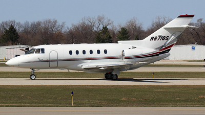 A picture of N871QS - Hawker 800XP - NetJets - © GregMac