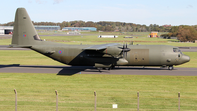 A picture of ZH872 - Lockheed C130J Hercules -  - © Ian Howat