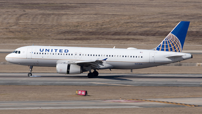 A picture of N453UA - Airbus A320232 - United Airlines - © Yixin Chen