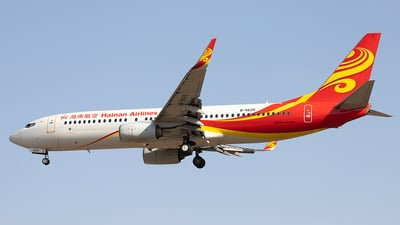 A picture of B5625 - Boeing 73784P - Hainan Airlines - © Captain Lorca