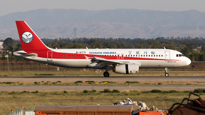 A picture of B6771 - Airbus A320232 - Sichuan Airlines - © WYANG0520