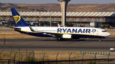 EI-DYX - Boeing 737-8AS - Ryanair