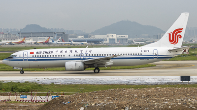A picture of B5179 - Boeing 73786N - Air China - © wang weilin