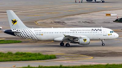 A picture of XYALR - Airbus A320214 - Myanmar Airways International - © Yan Shuai