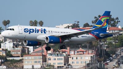 N625NK - Airbus A320-232 - Spirit Airlines
