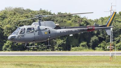 N-7055 - Helibrás UH-12 Esquilo - Brazil - Navy