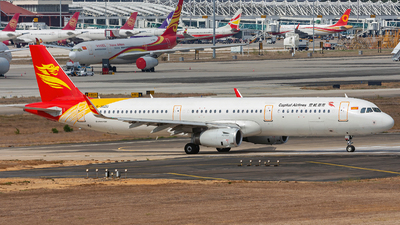 B-302U - Airbus A321-231 - Capital Airlines