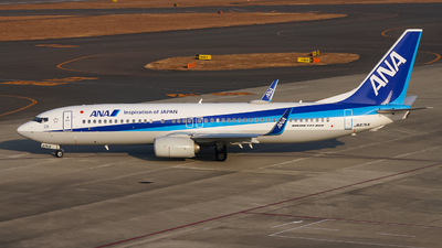A picture of JA87AN - Boeing 7378AL - All Nippon Airways - © Kittan