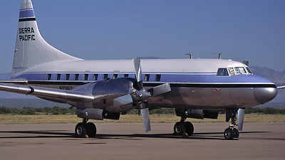 N73157 - Convair CV-580 - Sierra Pacific Airlines