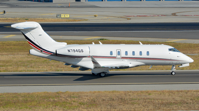 N794QS - Bombardier BD-100-1A10 Challenger 300 - NetJets Aviation