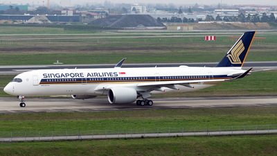 F-WZFM - Airbus A350-941 - Singapore Airlines