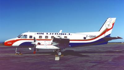 F-GBME - Embraer EMB-110 Bandeirante - Air Littoral