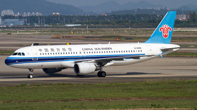 B-6289 - Airbus A320-214 - China Southern Airlines