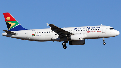 ZS-SZH - Airbus A320-232 - South African Airways