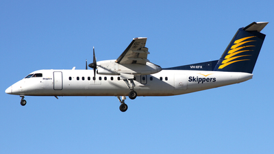 VH-XFX - Bombardier Dash 8-314 - Skippers Aviation