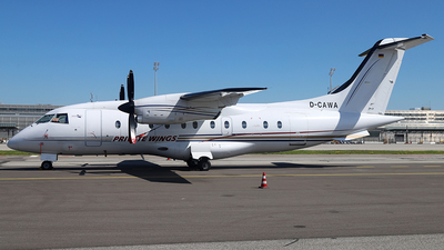 A picture of DCAWA - Dornier 328110 - Private Wings - © Philipp Schuetz