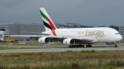 F-WWAH - Airbus A380-841 - Emirates