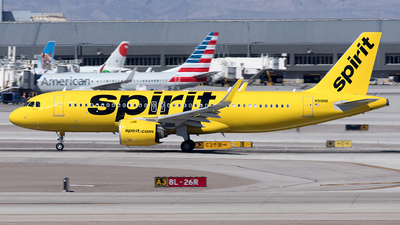 A picture of N918NK - Airbus A320271N - Spirit Airlines - © Yixin Chen