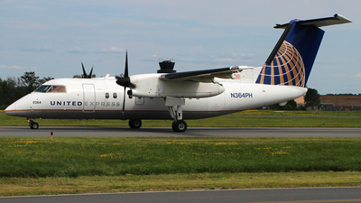 N364PH - Bombardier Dash 8-Q202 - United Express (Commutair)