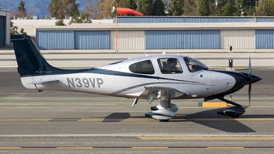 N39VP - Cirrus SR22T - Private