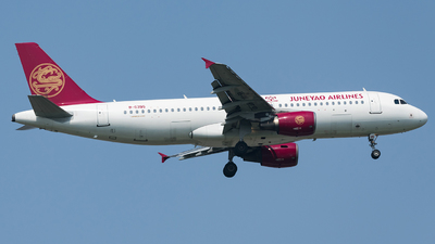 B-6395 - Airbus A320-214 - Juneyao Airlines