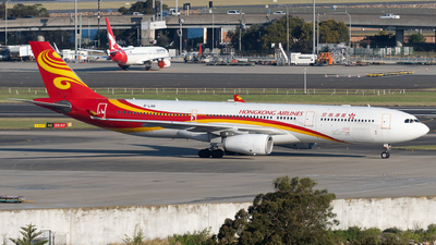 A picture of BLNN - Airbus A330343 - Hong Kong Airlines - © John Yu