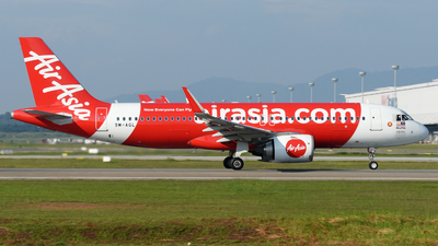 A picture of 9MAGL - Airbus A320251N - AirAsia - © Vicknesh PS