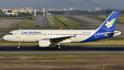 RDPL-34223 - Airbus A320-214 - Lao Airlines