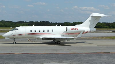 N1901W - Bombardier BD-100-1A10 Challenger 300 - Private