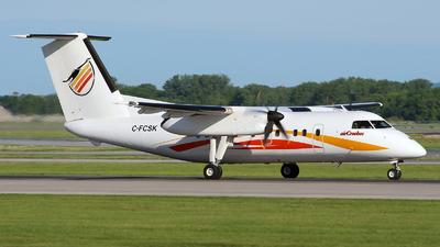 A picture of CFCSK - De Havilland Canada Dash 8100 - Air Creebec - © Daniel Nicholson