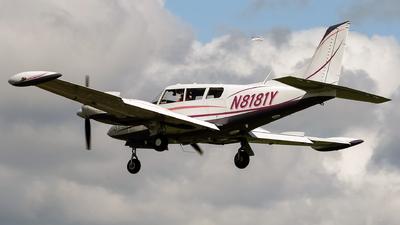 A picture of N8181Y - Piper PA30 Twin Comanche - [301298] - © mark p