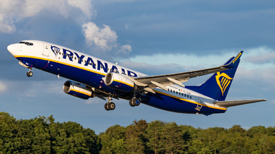 A picture of EIDWF - Boeing 7378AS - Ryanair - © Mario Trusch