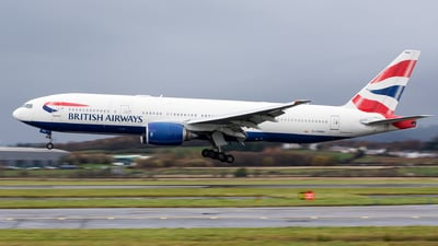 G-YMMU - Boeing 777-236(ER) - British Airways