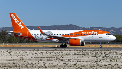 A picture of GUZHB - Airbus A320251N - easyJet - © Edgar Baptista