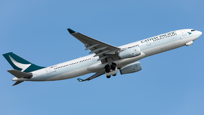 B-LAF - Airbus A330-343 - Cathay Pacific Airways