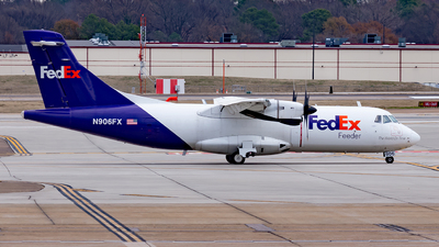 N906FX - ATR 42-320(F) - FedEx Feeder (Mountain Air Cargo)