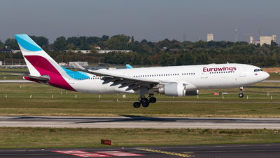 D-AXGG - Airbus A330-203 - Eurowings (SunExpress Germany)