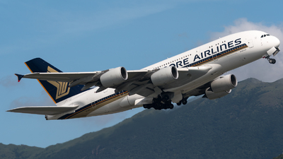 9V-SKV - Airbus A380-841 - Singapore Airlines
