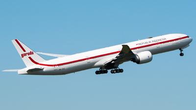 PK-GIG - Boeing 777-3U3ER - Indonesia - Government