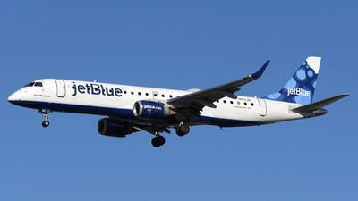 A picture of N183JB - Embraer E190AR - JetBlue Airways - © DJ Reed - OPShots Photo Team