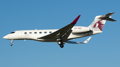 A7-CGC - Gulfstream G650 - Qatar Executive